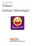 Yahoo!              Instant Messenger