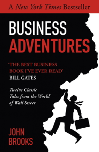 Business Adventures La couverture du livre martien