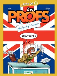 Les Profs La couverture du livre martien