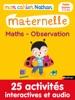 Mon cahier maternelle 3/4 ans Maths - Observation