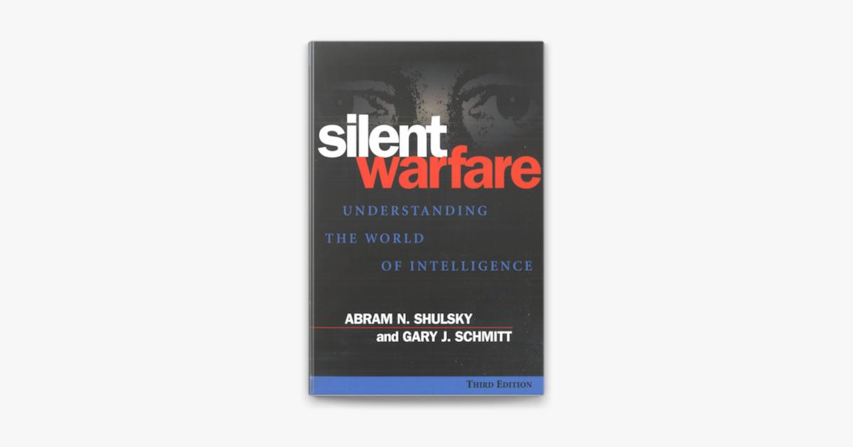 كتاب الحرب الصامتة – فهم عالم المخابرات