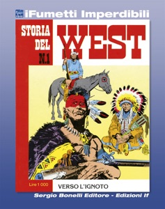 Storia del West n. 1 (iFumetti Imperdibili) Book Cover