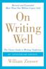 William Zinsser - On Writing Well, 30th Anniversary Edition  artwork