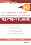 The Suicide And Homicide Risk Assessment And Prevention Treatment Planner With DSM-5 Updates