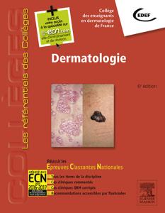 Dermatologie La couverture du livre martien