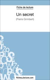 Un secret - Philippe Grimbert (Fiche de lecture)
