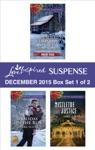 Love Inspired Suspense December 2015 - Box Set 1 Of 2