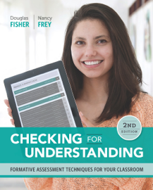 Checking for Understanding book