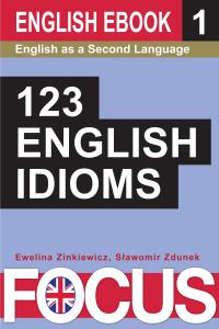 123 English idioms. Volume 1. Libro Cover