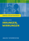 Irrungen und Wirrungen von Theodor Fontane.
