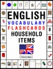 English Vocabulary: Flashcards - Household items