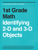 1st Grade Math- Identifying 2-D and 3-D Objects