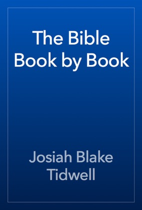 The Bible Book by Book book cover