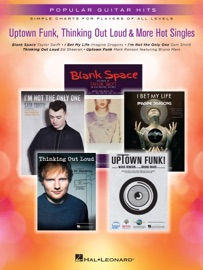 Uptown Funk Thinking Out Loud More Hot Singles Songbook