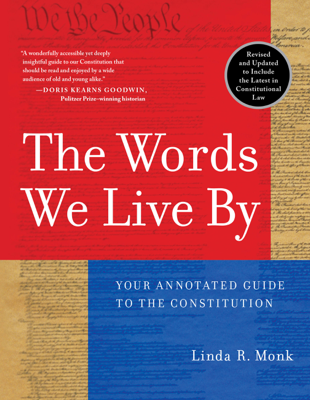 The Words We Live By - Linda R. Monk book