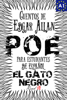Edgar Allan Poe, J. A. Bravo & Alex Angarita - El Gato negro. Cuentos de Edgar Allan Poe para estudiantes de espaГ±ol. Libro de lectura. Nivel A1 ilustraciГіn