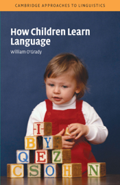 How Children Learn Language book