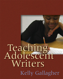 Teaching Adolescent Writers book
