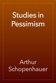 Studies in Pessimism book