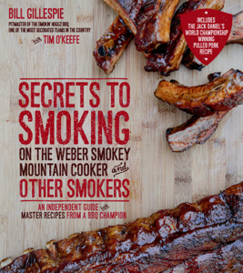 Secrets to Smoking on the Weber Smokey Mountain Cooker and Other Smokers Libro Cover