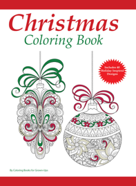 A Christmas Coloring Book for Adults