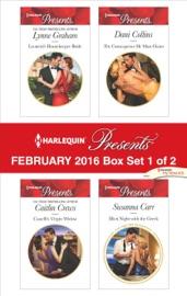 Harlequin Presents February 2016 - Box Set 1 of 2