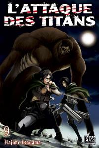 L'Attaque des Titans T09 La couverture du livre martien