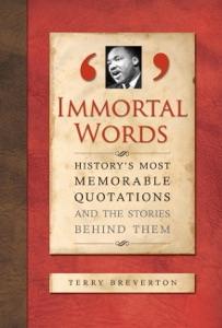 Immortal Words da Terry Breverton