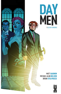 Day Men, Tome 1 La couverture du livre martien