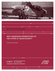 Next Generation Perspectives on the Future of Asian Security book