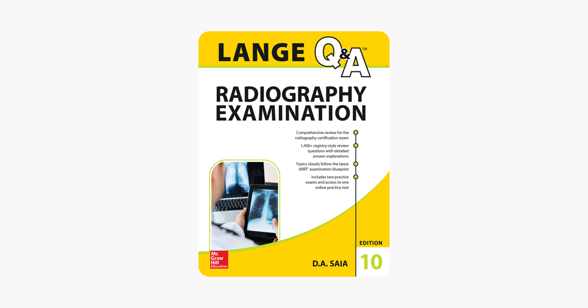 ‎LANGE Q&A Radiography Examination, Tenth Edition