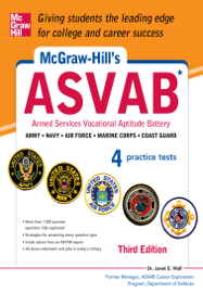McGraw-Hill's ASVAB, 3rd Edition book