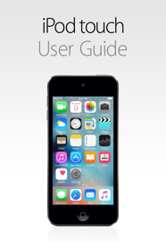 iPod touch User Guide for iOS 9.3 book