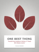 Transforming Academic Writing: A Thesis With iBooks Author