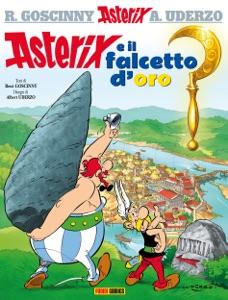 Asterix e il falcetto d'oro Book Cover