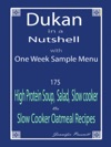 Dukan In A Nutshell With One Week Sample Menu
