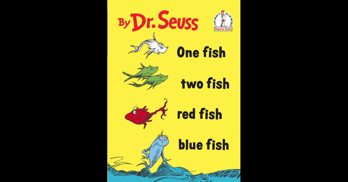 Details of One Fish Two Fish Red Fish Blue Fish