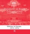 Detente In Europe 1972-1976
