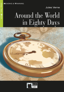 Around the World In Eighty Days Libro Cover