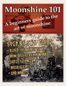 Moonshine 101: A Beginners Guide to the Art of Moonshine Book Cover