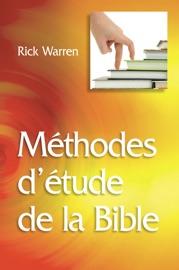 Méthodes d'étude de la Bible PDF Download