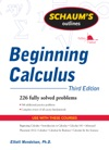 Schaums Outline Of Beginning Calculus Third Edition