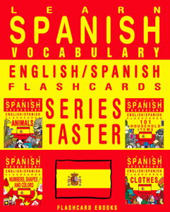 Learn Spanish Vocabulary: Series Taster - English/Spanish Flashcards Book Review