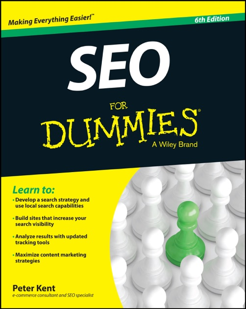 Seo For Dummies By Peter Kent On Apple Books