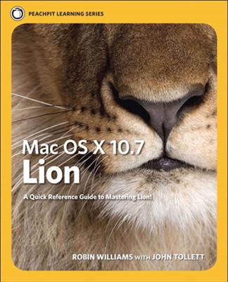 Mac OS X Lion - Robin Williams & John Tollett book