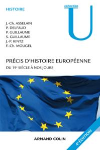 Précis d'histoire européenne - 4e éd. La couverture du livre martien