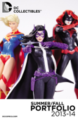 DC Collectibles Portfolio Summer 2013 / 2014 #1