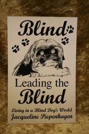 Blind Leading the Blind-Living in a Blind Dog's World