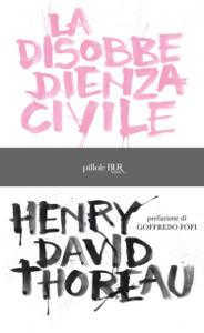 La disobbedienza civile Libro Cover