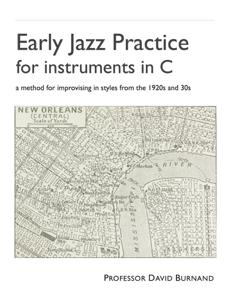 Early Jazz Practice for instruments in C La couverture du livre martien